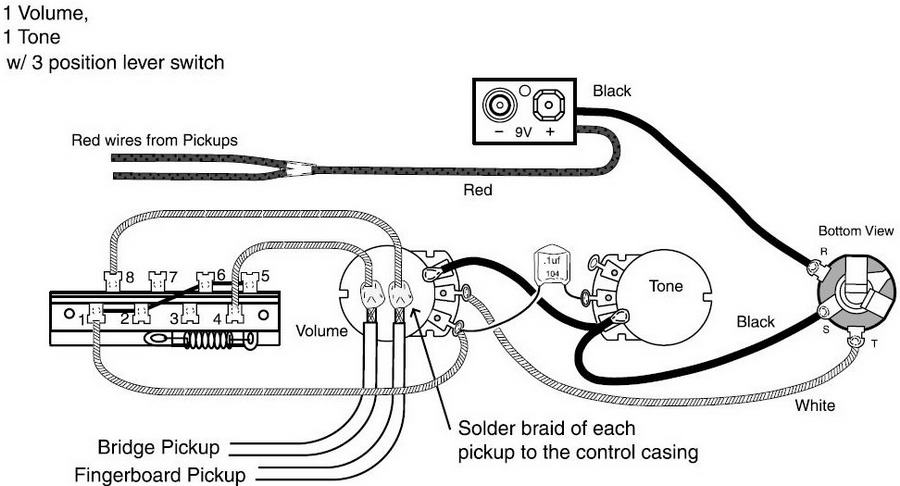 Emg Les Paul Wiring Schematic : Emg les paul wiring diagram get free image about